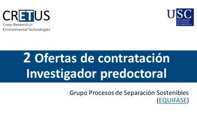 Offer 2 Predoctoral Contracts