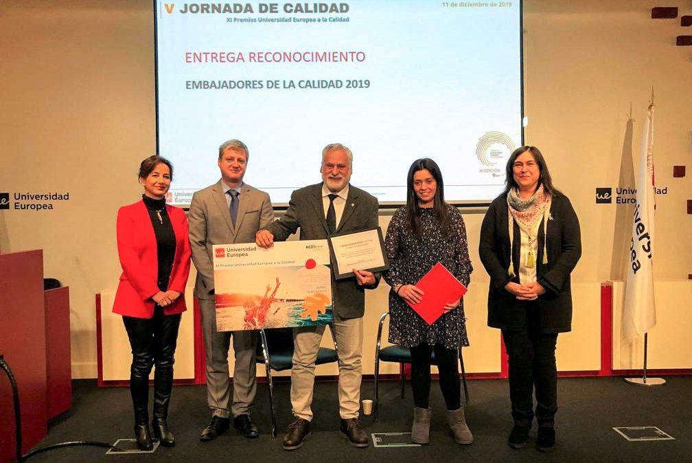 The Hydrobiology Station Encoro do Con '(EHEC) receives the' European University Award for Quality '