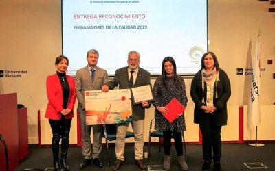 The Hydrobiology Station Encoro do Con '(EHEC) receives the' European University Award for Quality '