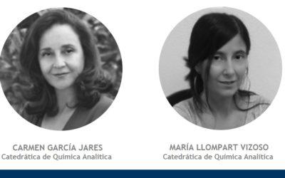 Carmen García Jares and María Llompart Vizoso obtain the professorship on Analytical Chemistry. Congratulations!