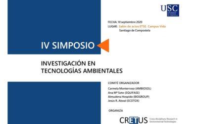 El IV Simposio de Investigación en Tecnologías Ambientales se traslada al Campus Vida