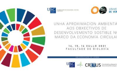 CRETUS prepara para julio un curso de verano sobre objetivos de desarrollo sostenible (ODS) en el marco de una economía circular