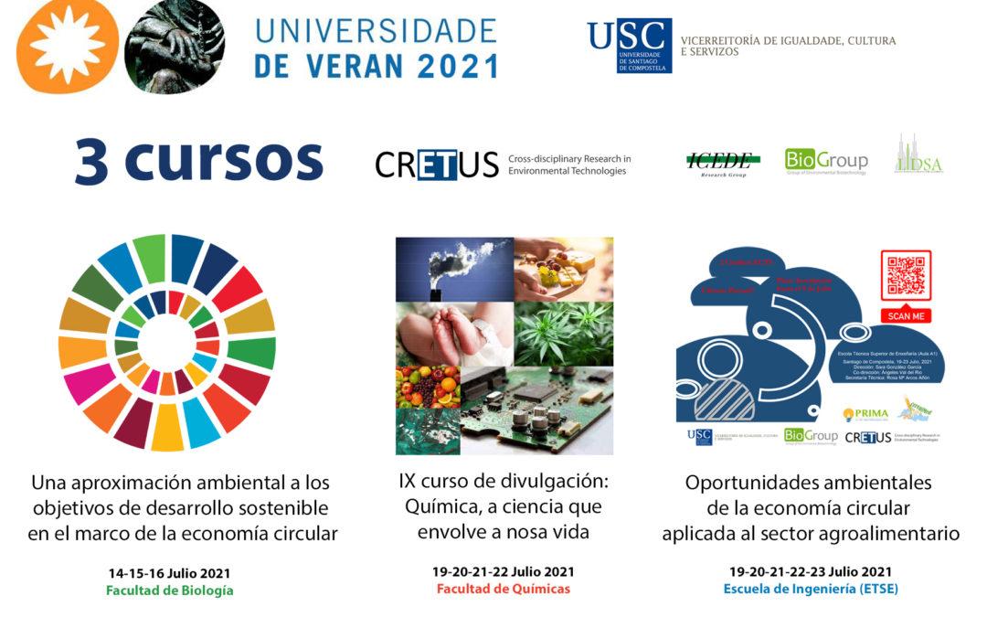 CRETUS comprometido con los cursos 'Universidade De Verán' de la USC